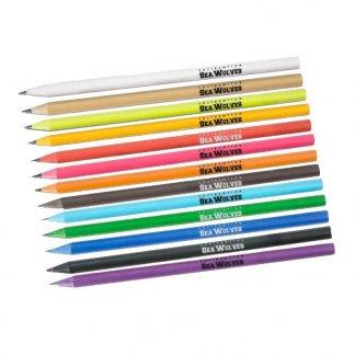 Crayon promotionnel en boitiers CD recyclés - 13 coloris standards - CDCASE