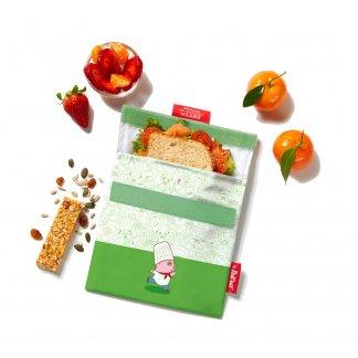Emballe biscuits réutilisable personnalisé - Avec logo - SNACK'N'GO