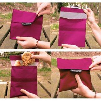 Emballe biscuits réutilisable publicitaire - utilisation - SNACK'NGO