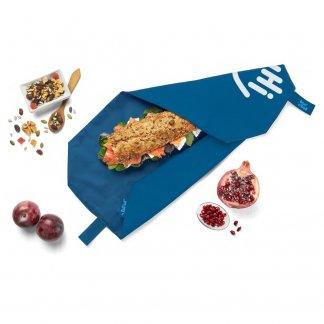 Emballe sandwich réutilisable personnalisé - Avec logo - BOC'N'ROLL