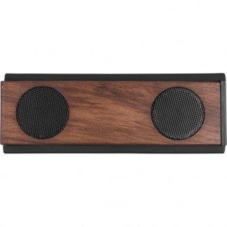 Enceinte bluetooth personnalisable en bois - double - DOUBLEVOL