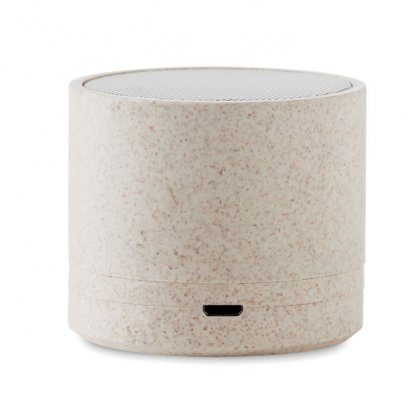 Enceinte Bluetooth Personnalisable En Fibres De Blé Et Polypropylène USB BIOSONG