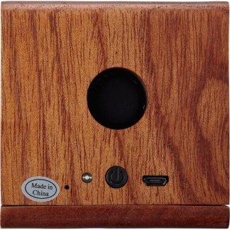 Enceinte bluetooth personnalisée en bois - arrière - BOISVOL