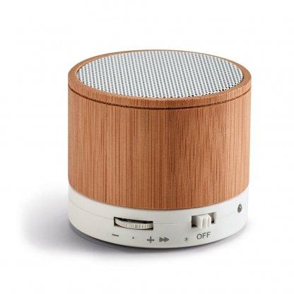 Enceinte Bluetooth Promotionnelle En Bambou GLASHOW