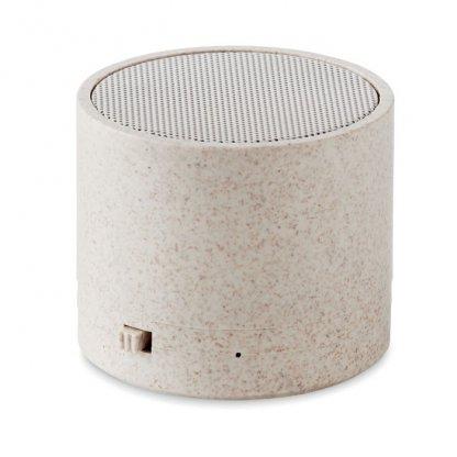 Enceinte Bluetooth Promotionnelle En Fibres De Blé Et Polypropylène BIOSONG