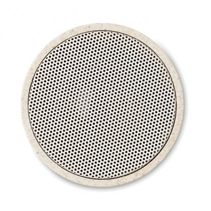 Enceinte Bluetooth Publicitaire En Fibres De Blé Et Polypropylène Dessus BIOSONG