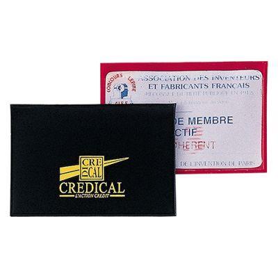 Etui 1 Carte De Crédit Publicitaire En PVC Recto Verso