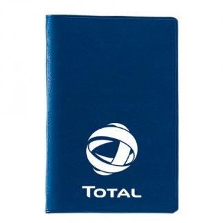 Etui 2 cartes de crédit avec poche publicitaire en PVC - Marquage 1 couleur