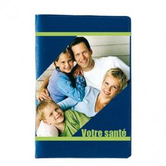 Etui 2 cartes de crédit avec poche publicitaire en PVC - Marquage quadri total