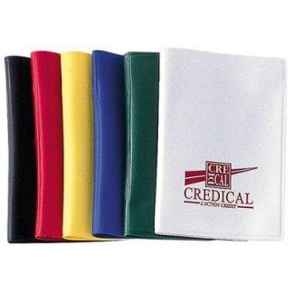 Etui 2 cartes de crédit publicitaire en PVC - 2 poches verticales