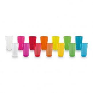 Gobelet personnalisable réutilisable en polypropylène - 300ml - Toutes couleurs - GLASS