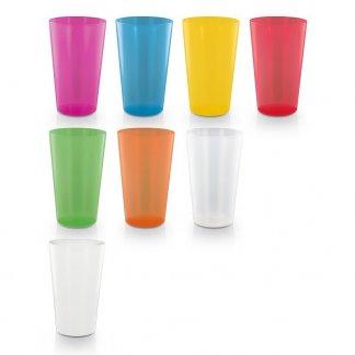 Gobelet publicitaire réutilisable en polypropylène - 600ml - Toutes couleurs - BIG CUP