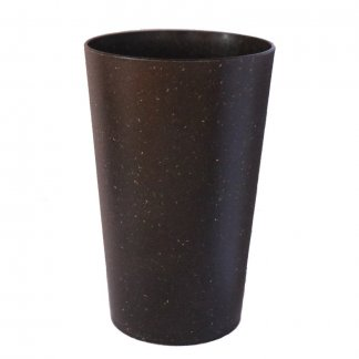Gobelet réutilisable personnalisable en roseau et polypropylène recyclé - 330ml - BIOSOURCE