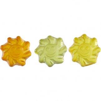 Gomme de fruit à l'Aloé Vera pour végétaliens - sachet publicitaire de 10g - bonbons - BIEN-ETRE VEGAN