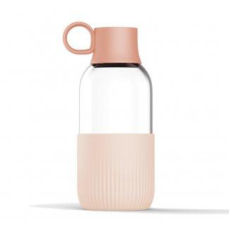 Gourde éco-conçue promotionnelle en verre - 500ml - GOBI INDOOR - Rose