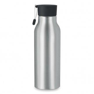 Gourde personnnalisable 500ml en aluminium - Noir - MADISON