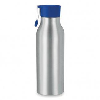 Gourde publicitaire 500ml en aluminium - Bleu - MADISON