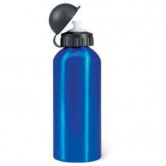 Gourde sport 600ml publicitaire en aluminium - Bleu brillant - BISCING