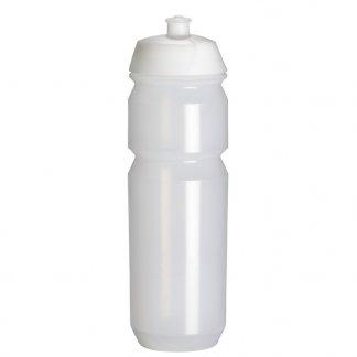 Gourde sport personnalisable en plastique biodégradable - 750ml - blanc - SHIVA O2