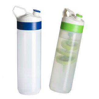 Gourde sport promotionnelle 450ml en plastique biodégradable - BIO-BOTTLE FUSE