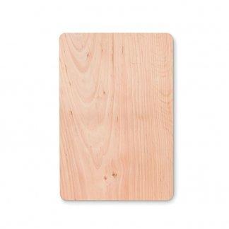 Grande planche à découper personnalisée en bois - dessous - ELLWOOD