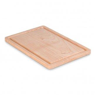 Grande planche à découper publicitaire en bois - ELLWOOD