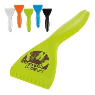 Gratte-givre ergonomique promotionnel en plastique polystyrène choc - Toutes couleurs