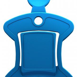 Gratte-glace, jeton pour caddie multifonction - bleu - OSCAR