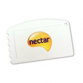 Gratte-glace promotionnel format carte de crédit en plastique recyclé - ICECARD