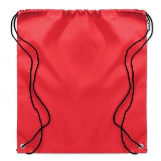 Gym bag personnalisé en bouteilles plastiques recyclées - Rouge - 110g - SHOOPPET