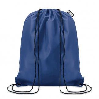 Gym bag promotionnel en bouteilles plastiques recyclées - Bleu - 110g - SHOOPPET