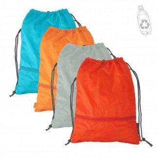 Gym bag promotionnel en bouteilles plastiques recyclées - INZE BACK