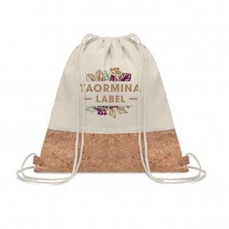 Gym bag promotionnel en coton et liège - 160g - 38x41cm - logo - ILLIA