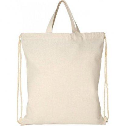 Gym Bag Promotionnel En Coton Recyclé 210g 38 X 42 Cm Debout PHEEBS