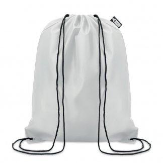 Gym bag publicitaire en bouteilles plastiques recyclées - Blanc - 110g - SHOOPPET