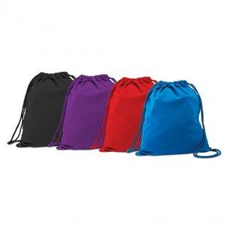 Gym bag publicitaire en coton naturel - 4 couleurs - COLUMBIA