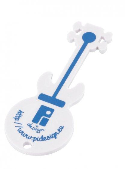 Jeton De Caddie Forme Spéciale Publicitaire En Plastique ABS Guitare