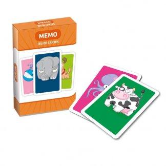 Jeu de 44 cartes à jouer pour enfants - Memo - CARTA JUNIOR
