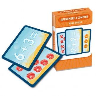 Jeu de 44 cartes ludique pour enfants - Compter - CART'APPRENDRE