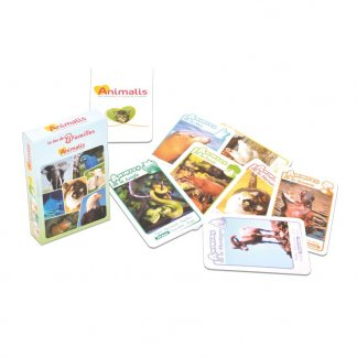 Jeu de 7 familles 44 cartes - Les animaux du monde - SAVOIR PLUS