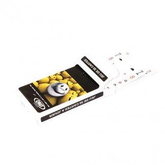 Jeu de Belote publicitaire 32 cartes - sous étui carton - BELOTE
