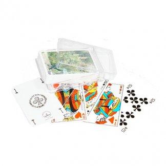 Jeu de Rami publicitaire 55 cartes - sous boite cristal - RAMI