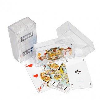 Jeu de Tarot publicitaire 78 cartes - sous boîte cristal -TAROT