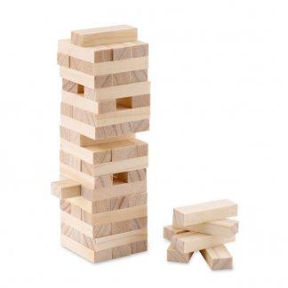 Jeu de construction de tour en bois personnalisé - jeu - PISA