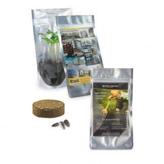 Kit de plantation dans sachet promotionnel - JARDIN DE POCHE
