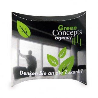 Kit de plantation personnalisable dans pochette berlingot - 2 formats - Green - SET BERLINGOT