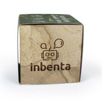 Kit de plantation personnalisé dans cube en bois - Avec gravure - NATURACUBE
