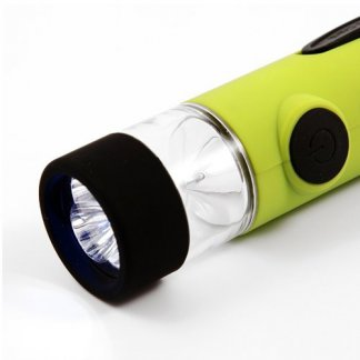 Lampe dynamo publicitaire - LED - DYNAPRATIK