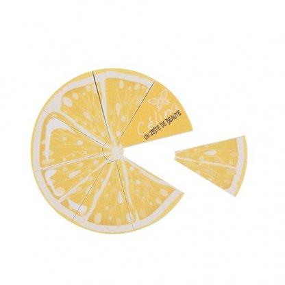 Lime à Ongles Publicitaire à Votre Forme En Carton émeri Citron