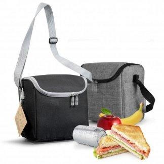 Lunch bag isotherme personnalisable avec couverts en bouteilles plastiques recyclées - 2 couleurs - GAMELBAG